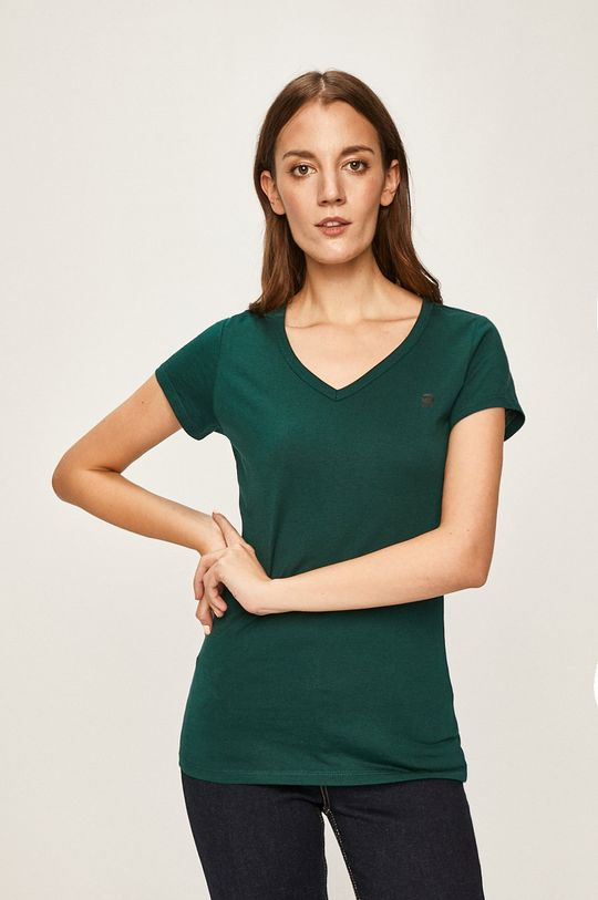 zielony G-Star Raw - T-shirt Damski