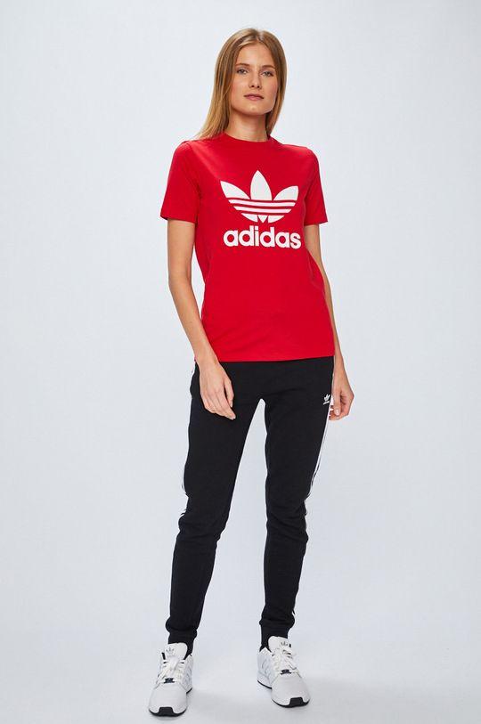 adidas Originals - Топ червен