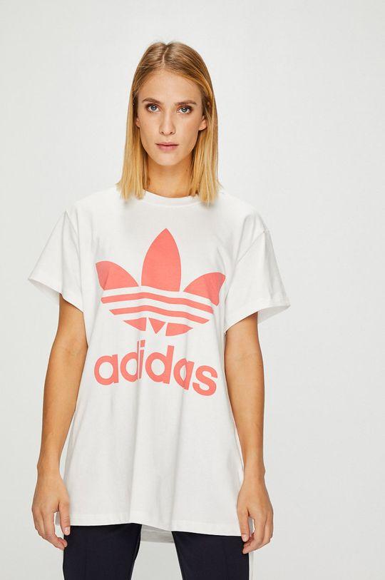 бял adidas Originals - Топ Жіночий