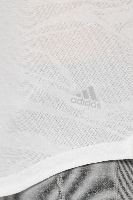 adidas Performance - Топ бял