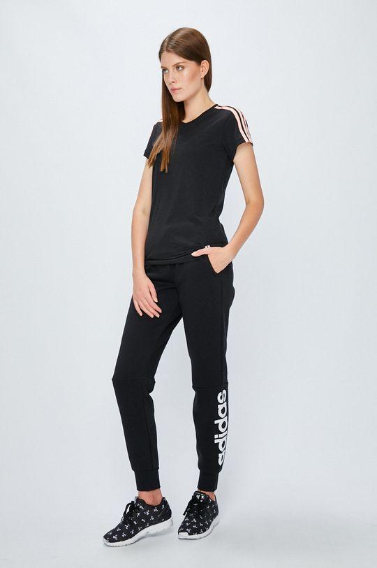 adidas Performance - Топ черен