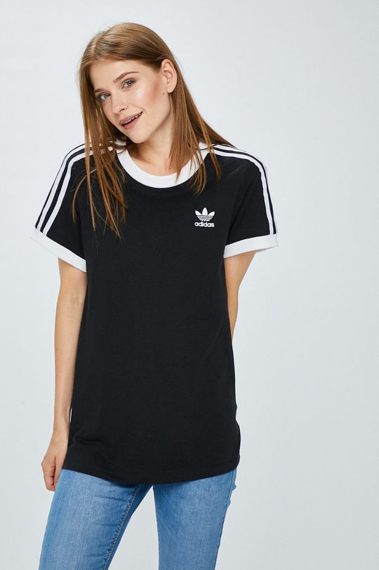 черен adidas Originals - Топ Жіночий