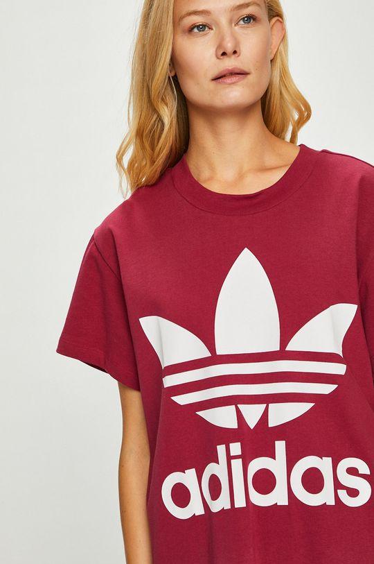 gaštanová adidas Originals - Top
