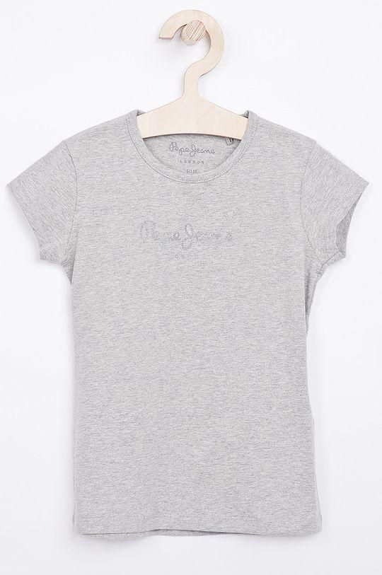 šedá Pepe Jeans - Dětský top Hana 104-180 cm Dívčí