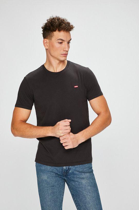 negru Levi's - Tricou De bărbați