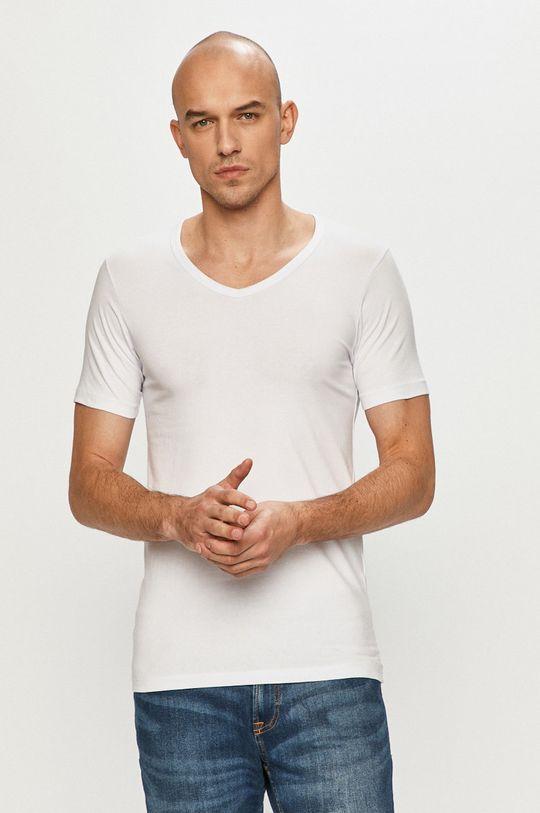 biela Jack & Jones - Pánske tričko
