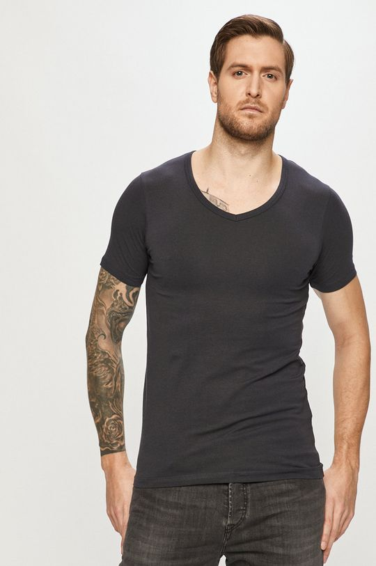 tmavomodrá Jack & Jones - Pánske tričko Pánsky