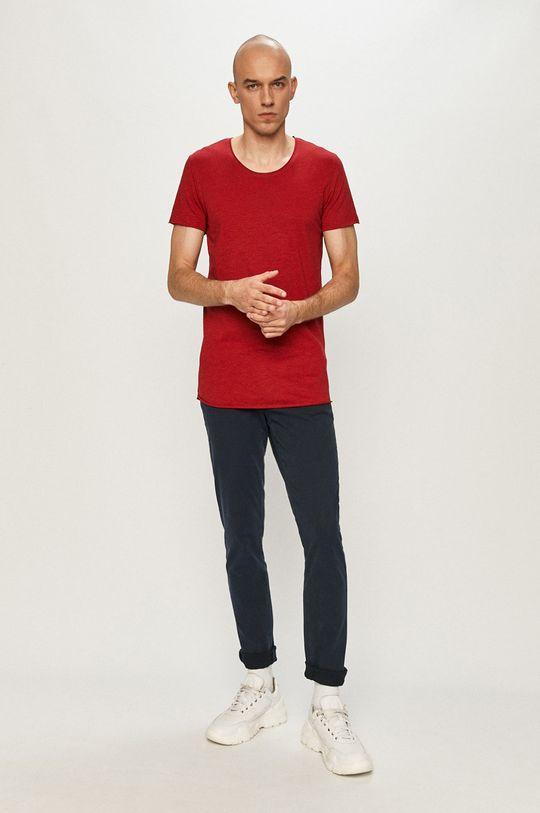 Jack & Jones - T-shirt czerwony