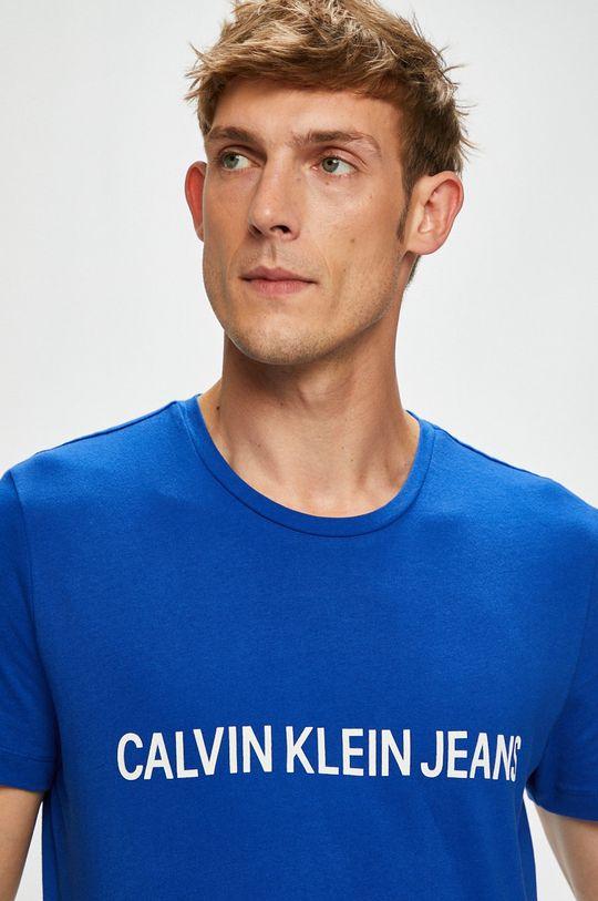 modrá Calvin Klein Jeans - Tričko