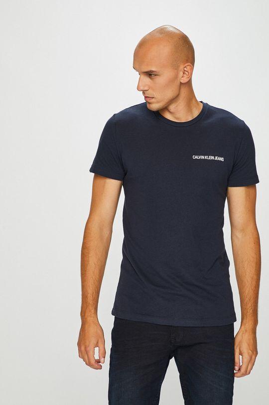 tmavomodrá Calvin Klein Jeans - Pánske tričko Pánsky