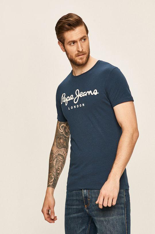 tmavomodrá Pepe Jeans - Pánske tričko Pánsky