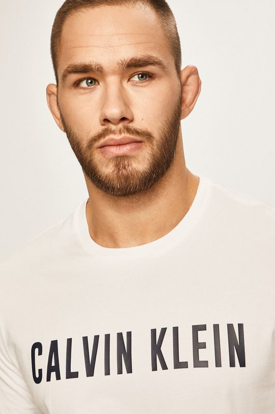 bílá Calvin Klein Performance - Tričko