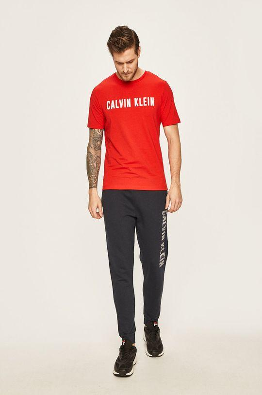 Calvin Klein Performance - Tričko červená