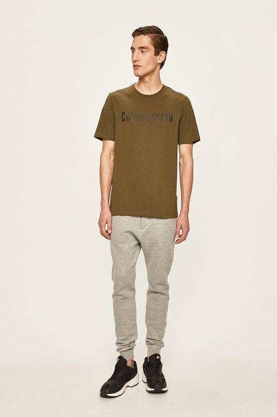 Calvin Klein Performance - Tričko okrová