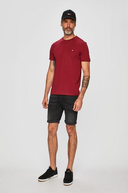 Calvin Klein - Tričko kaštanová