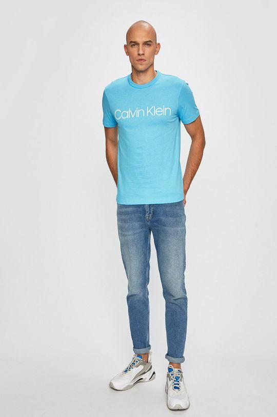 Calvin Klein - Tričko světle modrá
