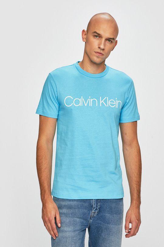 světle modrá Calvin Klein - Tričko