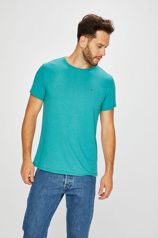 jasny turkusowy Tommy Jeans - T-shirt