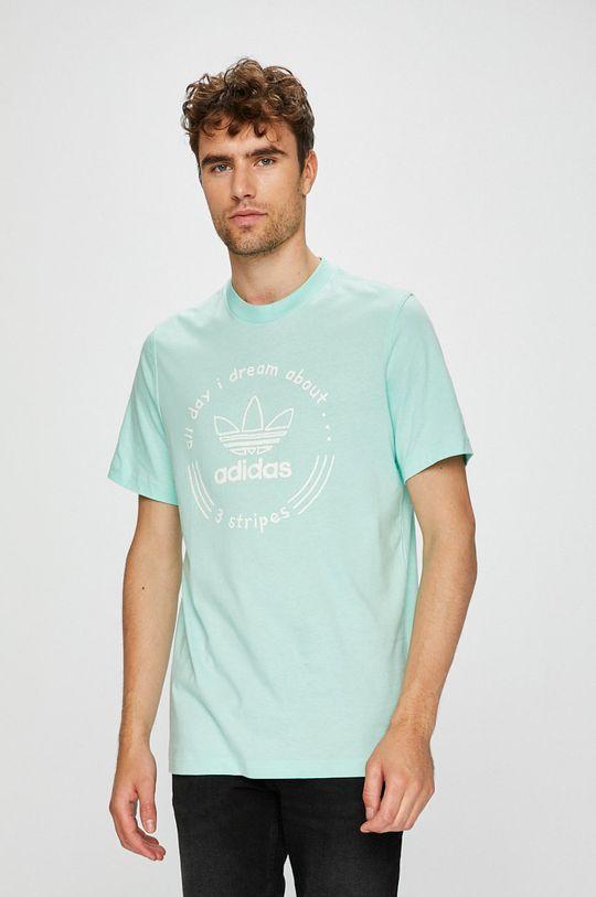 menta adidas Originals - T-shirt Férfi