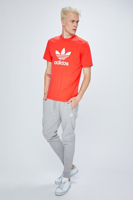 adidas Originals - T-shirt koral színű