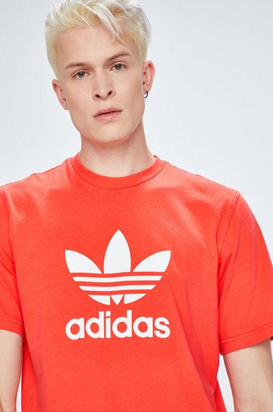 koral színű adidas Originals - T-shirt