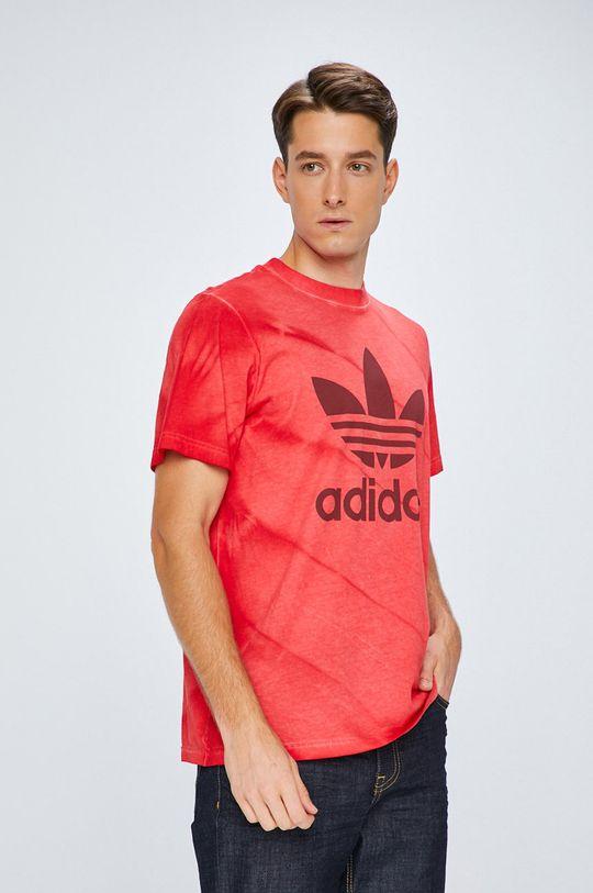 червен adidas Originals - Тениска Чоловічий