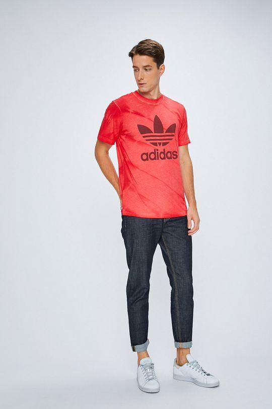 adidas Originals - Тениска червен