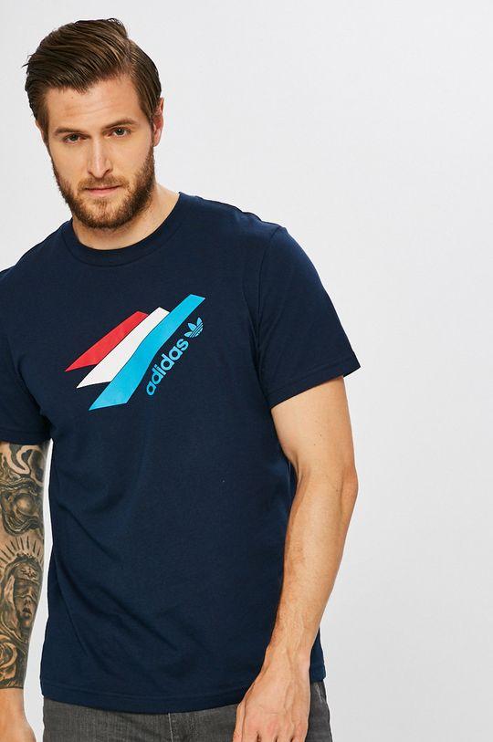 тъмносин adidas Originals - Тениска Чоловічий