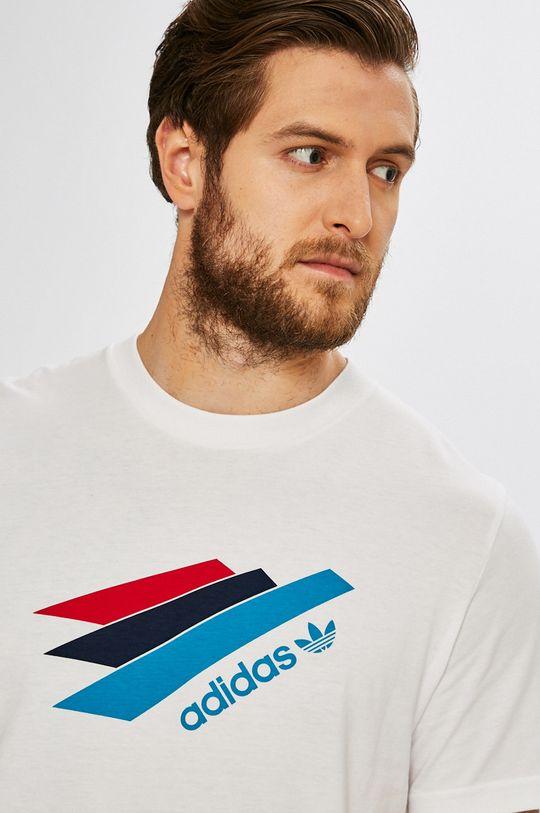 бял adidas Originals - Тениска