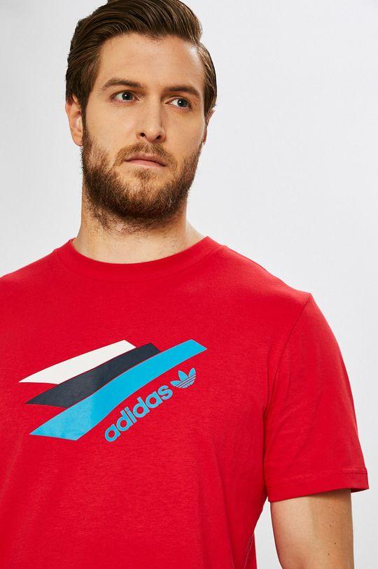 piros adidas Originals - T-shirt
