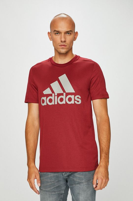 gesztenyebarna adidas Performance - T-shirt Férfi