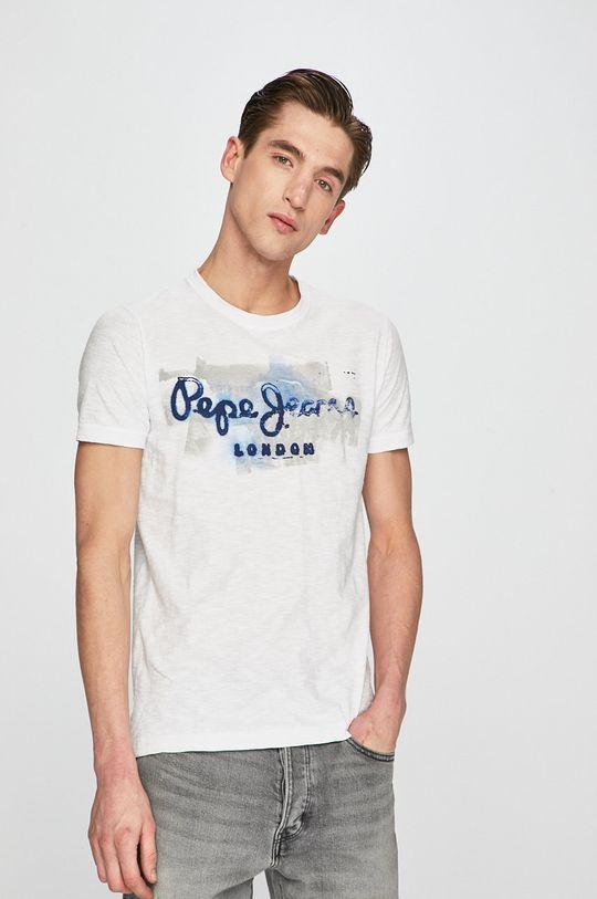 biały Pepe Jeans - T-shirt Męski