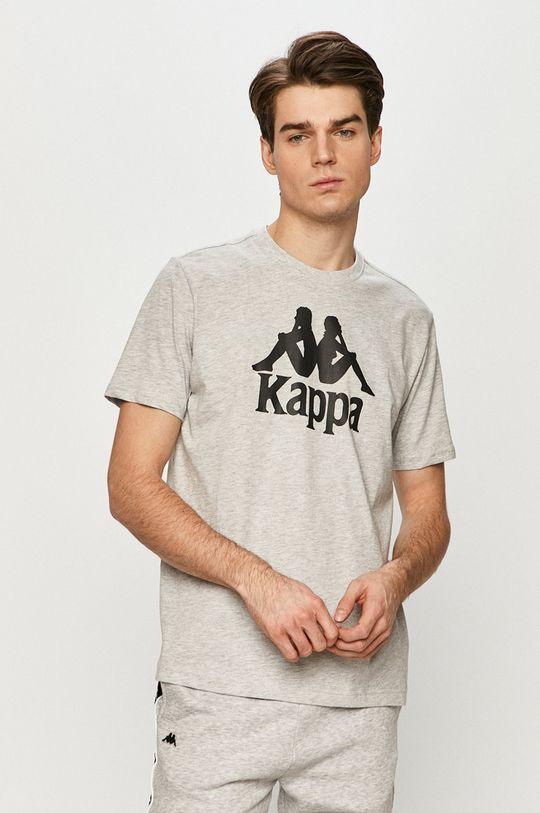 Kappa - T-shirt jasny szary