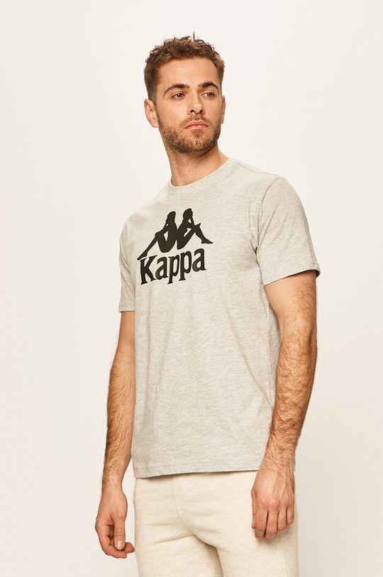 šedá Kappa - Tričko Pánský