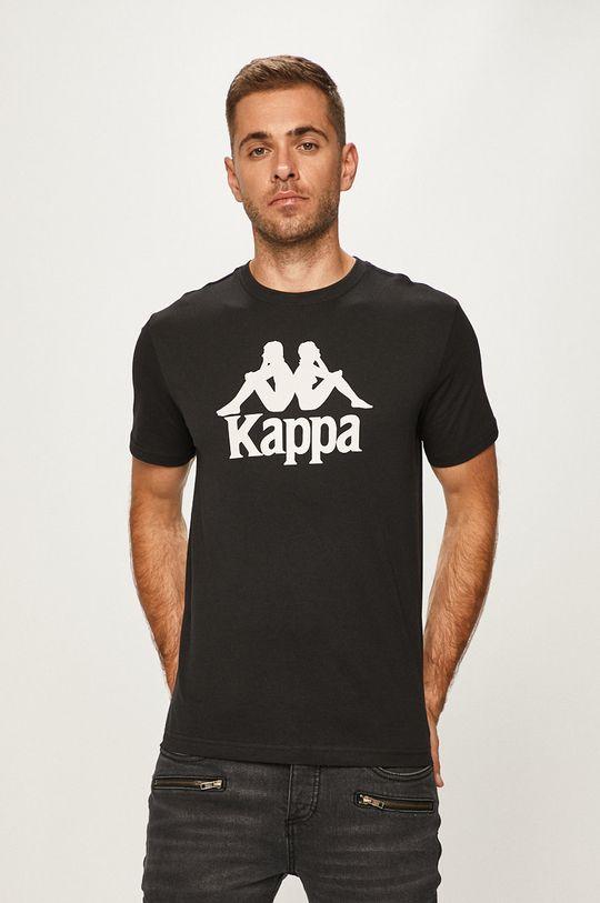 czarny Kappa - T-shirt