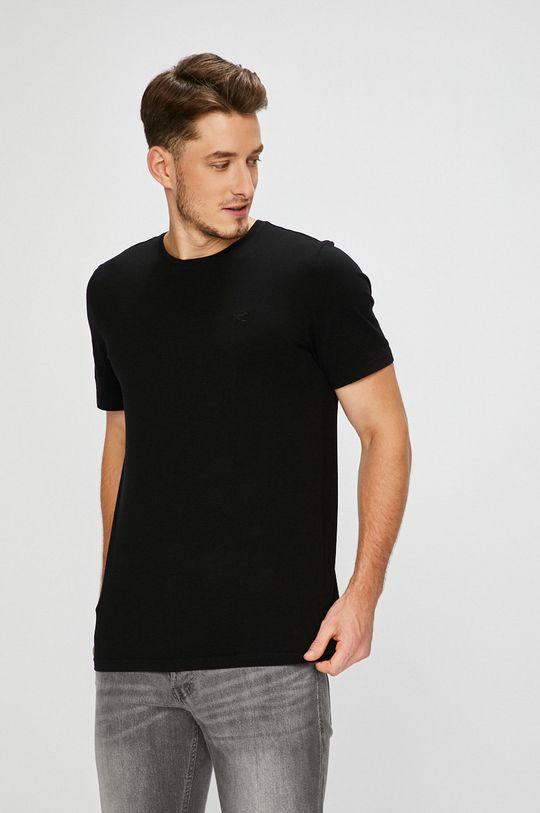 černá Mustang - Tričko Pánský