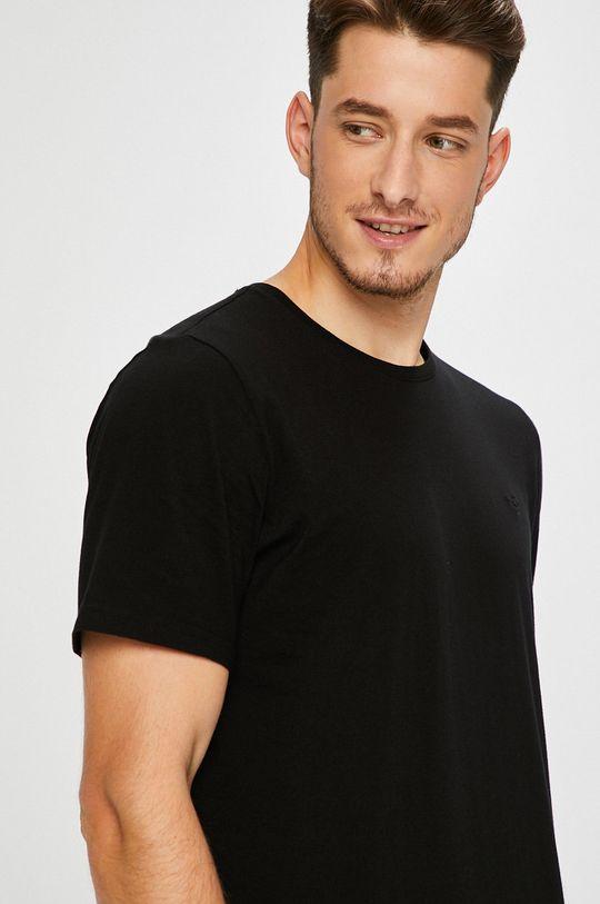 černá Mustang - Tričko