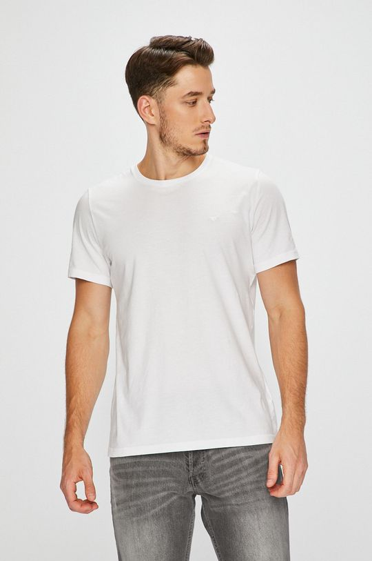 bílá Mustang - Tričko (2-Pack) Pánský