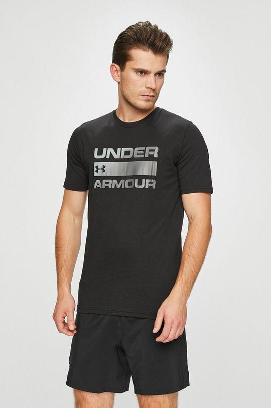 černá Under Armour - Tričko Pánský