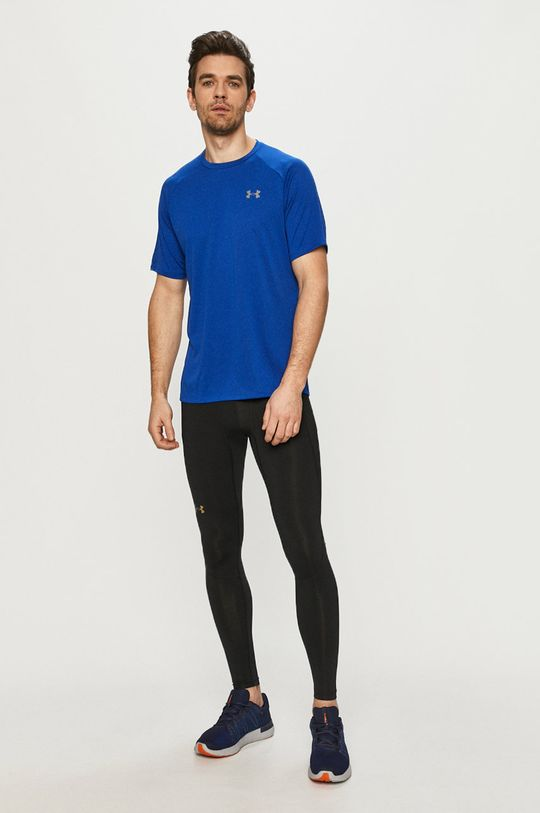 Under Armour - T-shirt fioletowy