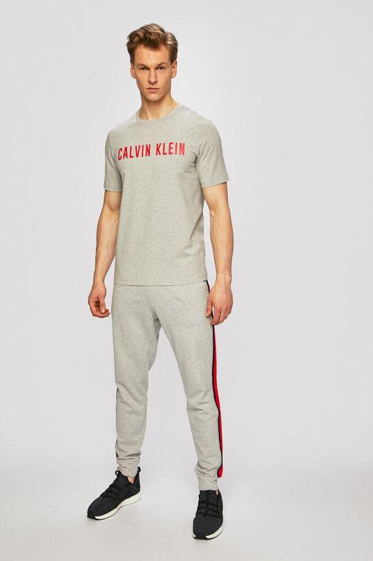 Calvin Klein Performance - T-shirt jasny szary