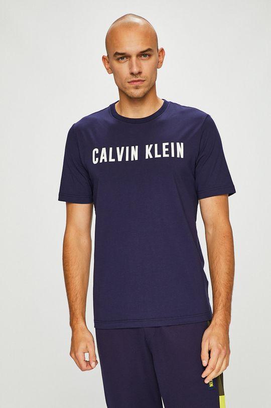 námořnická modř Calvin Klein Performance - Tričko Pánský