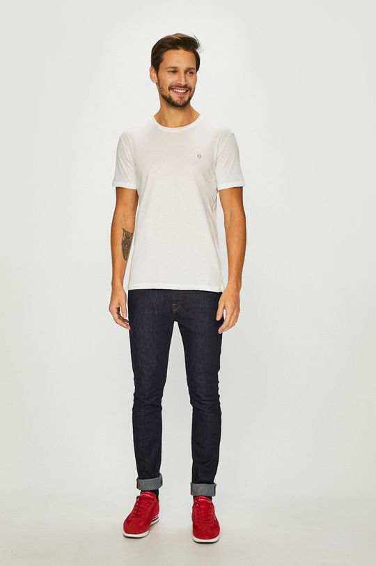 John Frank - T-shirt biały