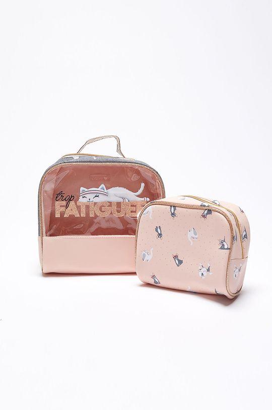 ružová Etam - Kozmetická taška Gym (2-pack) Dámsky