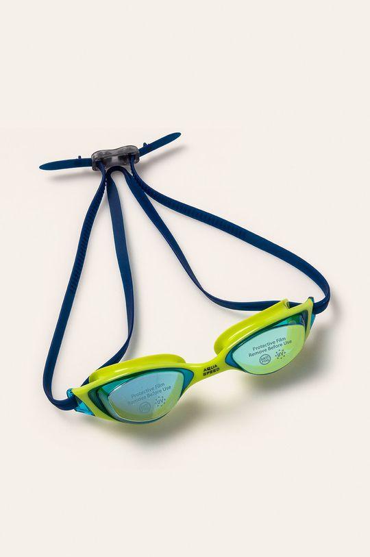 żółty Aqua Speed - Okulary pływackie Męski