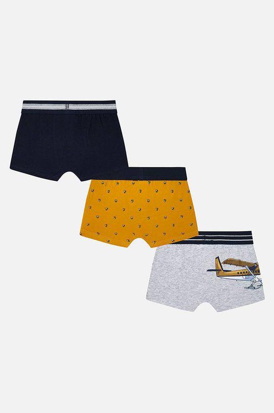 Mayoral - Detské boxerky (3-pack) jantárová
