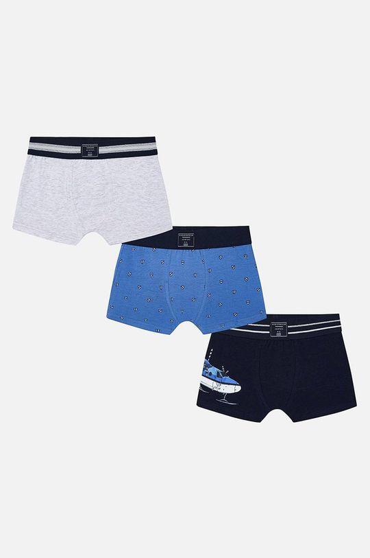 modrá Mayoral - Detské boxerky (3-pack) Chlapčenský