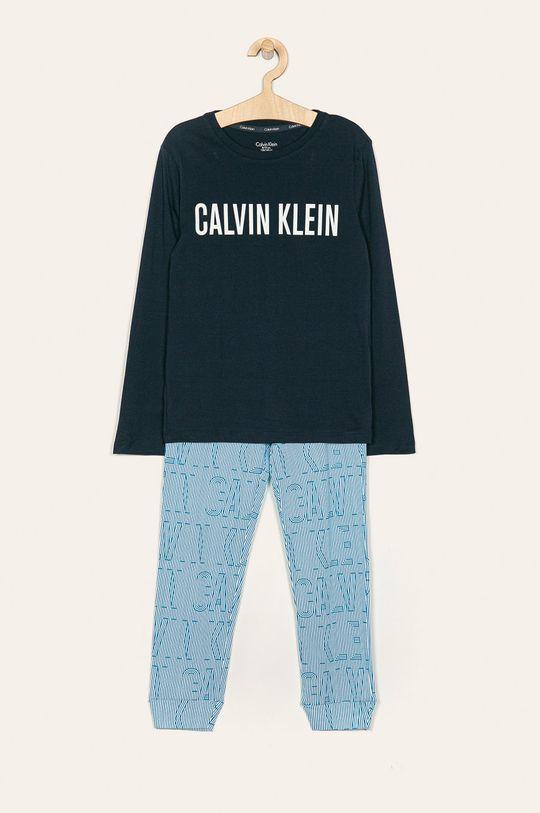 тъмносин Calvin Klein Underwear - Детска пижама 128-176 cm Момче