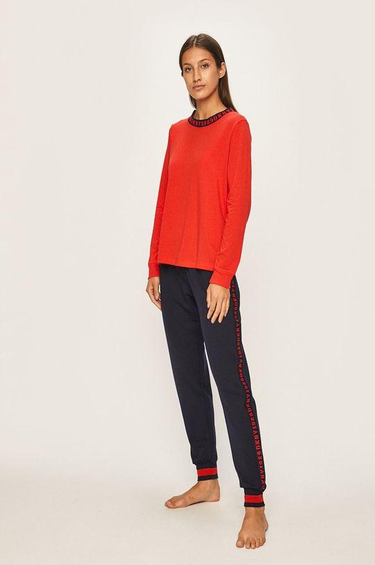 Dkny - Nočná košeľa červená