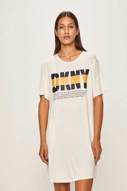 biela Dkny - Nočná košeľa Dámsky